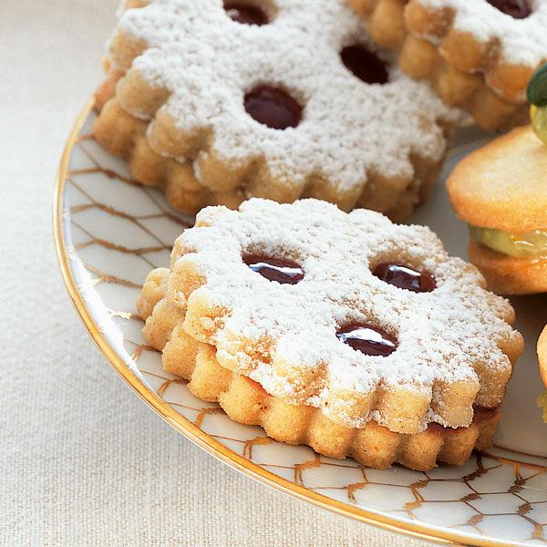Linzer Weihnachtsplätzchen Rezept Küchengötter