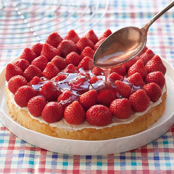 Erdbeer Biskuit Kuchen Rezept Kuchengotter