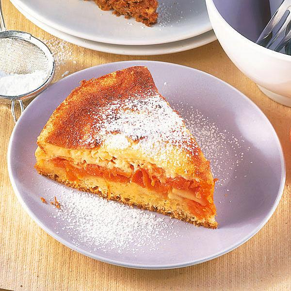 Kurbis Apfel Kuchen Mit Eiercreme Rezept Kuchengotter