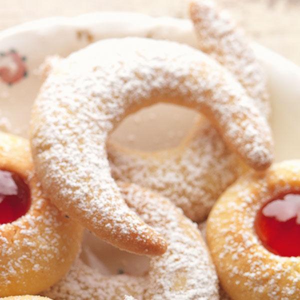 Lafer Weihnachtsplätzchen.Vanillekipferl Aus Der Heimatküche