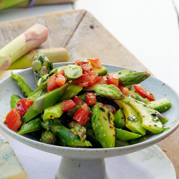 Avocado-Spargel-Salat Rezept | Küchengötter