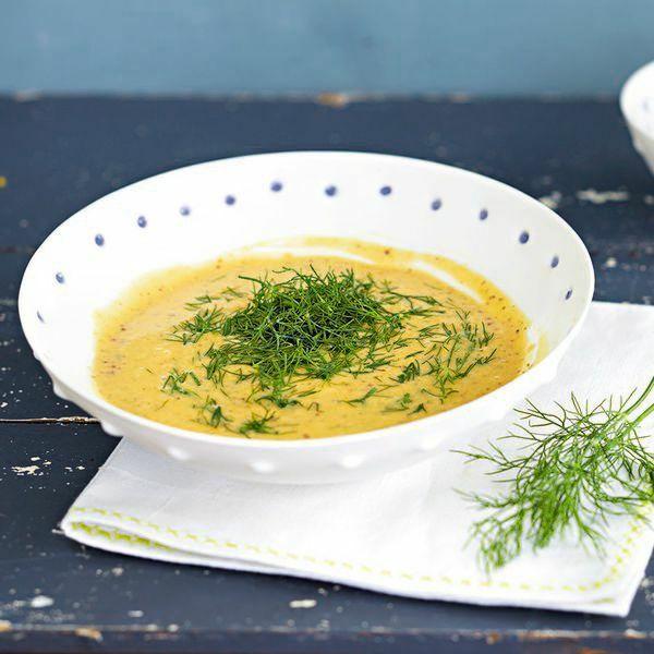 Salat sauce senf