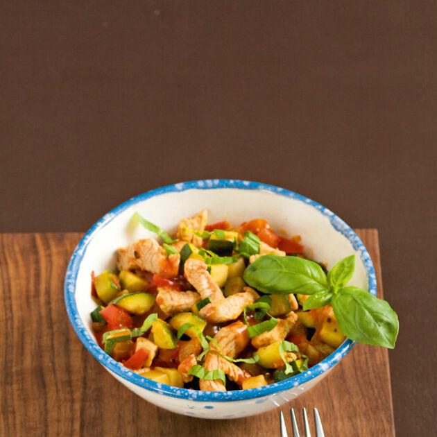 Putengeschnetzeltes mit Tomaten Rezept | Küchengötter