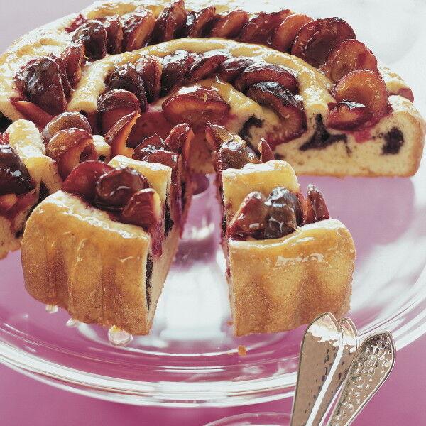 Zwetschgen Mohn Kuchen Mit Marzipan Rezept Kuchengotter