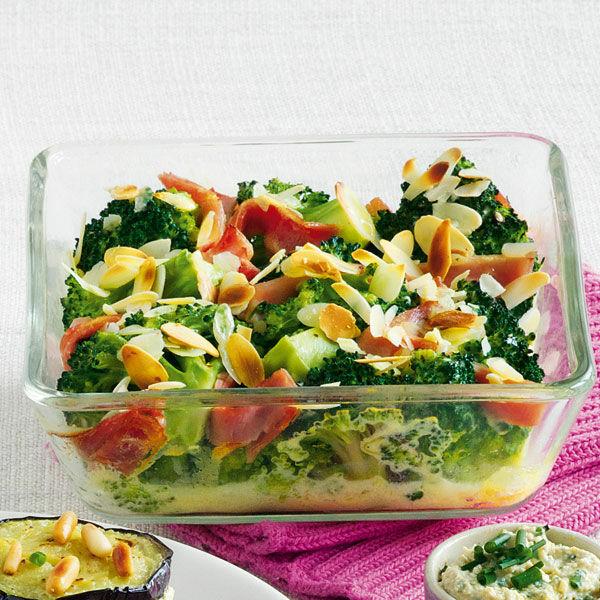 Schinken-Brokkoli aus dem Ofen