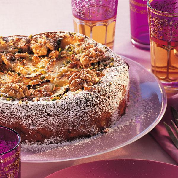 Italienische Apfel Nuss Torte Rezept Kuchengotter