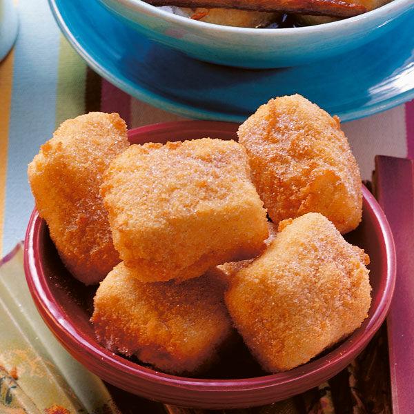 Spanische gebratene Puddingschnitten
