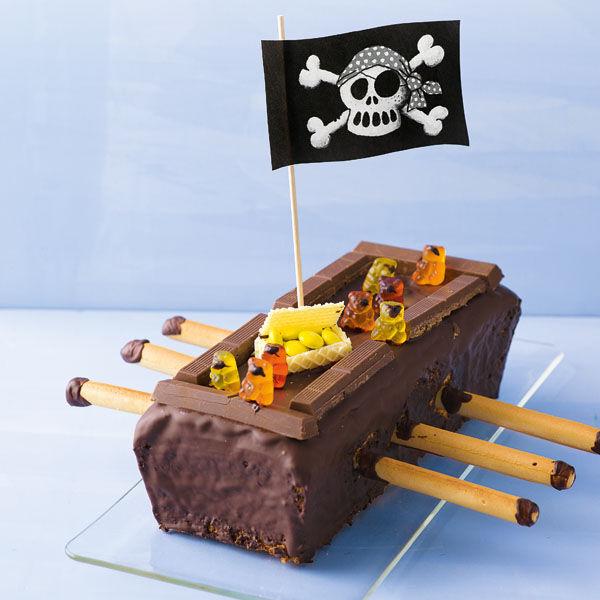 Piratenschiff Rezept Glutenfrei Kuchengotter