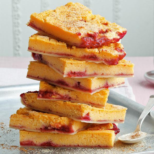 Vanille Maisgrieß Kuchen Mit Kirschen Rezept Küchengötter