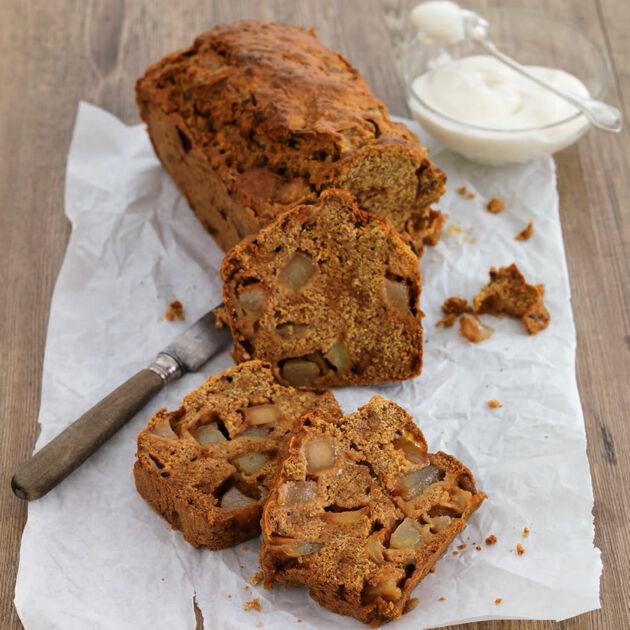 Veganer Bratbirnenkuchen Mit Kardamom Rezept Kuchengotter