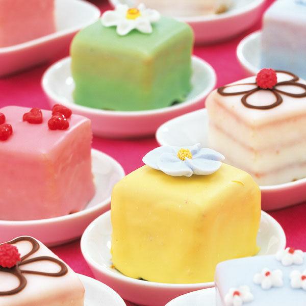 Mini Square Cakes