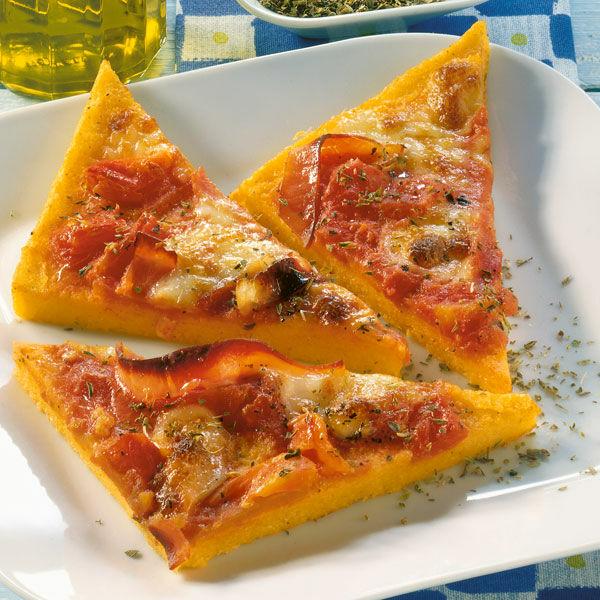 Polenta Pizza Rezept Glutenfrei Küchengötter