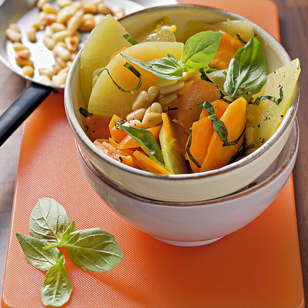 Kohlrabi Möhren Gemüse Rezept Küchengötter