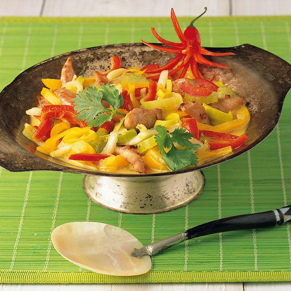 Schlank im Schlaf Hähnchencurry Rezept | Küchengötter