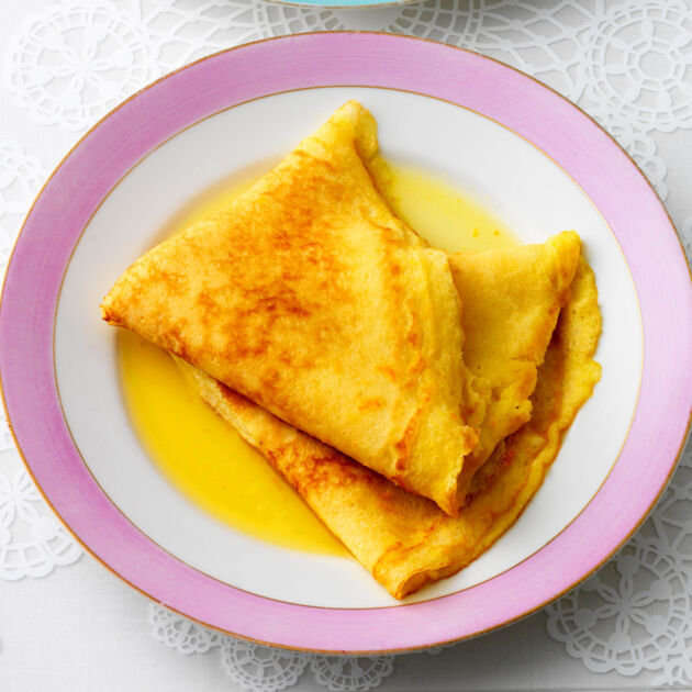 Crêpes Suzette Rezept Flambiertes Dessert Küchengötter