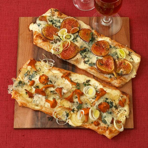 vegetarisch flammkuchen