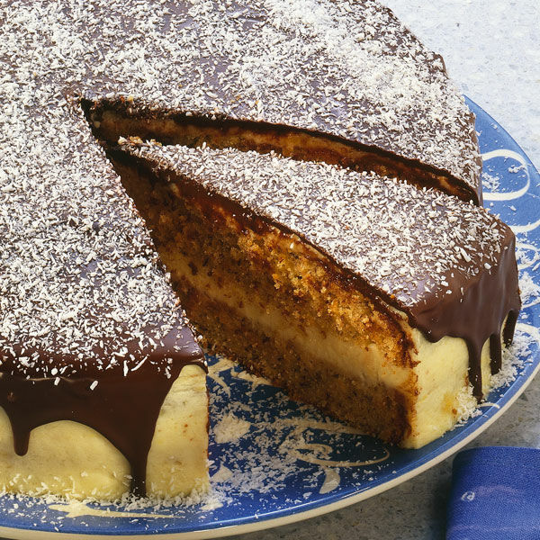Vanille Kokoscreme Torte Rezept Kuchengotter