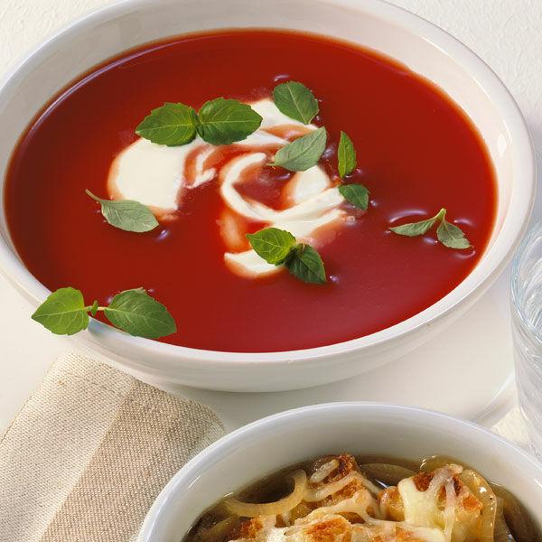 Frische Tomatensuppe Rezept Küchengötter