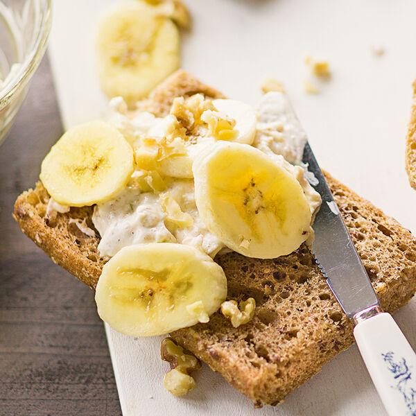 Rezept kuchen banane apfel