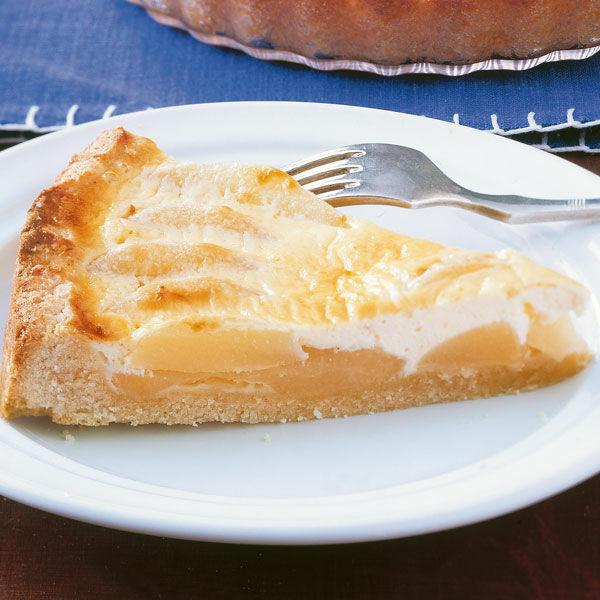 Birnenkuchen Mit Sahneguss Rezept Kuchengotter