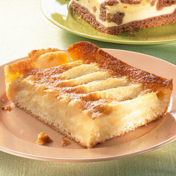 Hefekuchen Mit Apfelrahmguss Rezept Kuchengotter