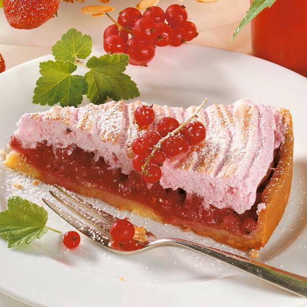 Johannisbeer Baiser Torte Rezept Kuchengotter
