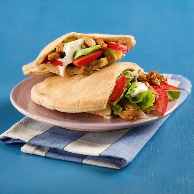 Gyros-Sandwich Rezept | Küchengötter