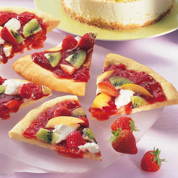 Bunte Fruchte Pizza Rezept Kuchengotter