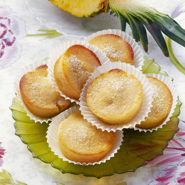 Ananas kokos muffins rezept