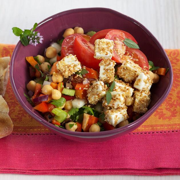 Arabischer Kichererbsensalat Rezept | Küchengötter