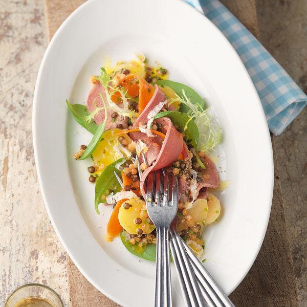 Linsen salat nach lafer