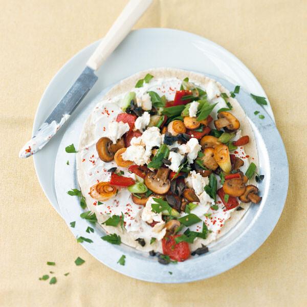 Rezept mit zucchini champignons und paprika