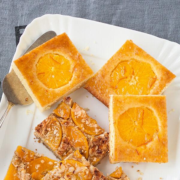 Orangenkuchen Vom Blech Rezept Kuchengotter