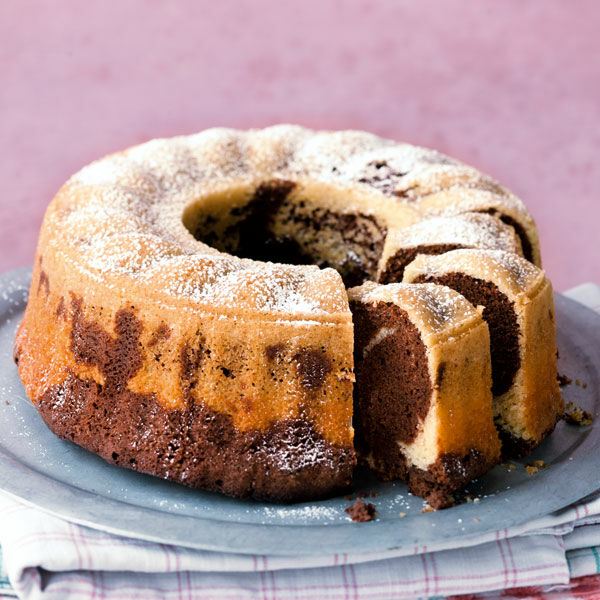 Marmorkuchen Mit Bitterschokolade Rezept Kuchengotter
