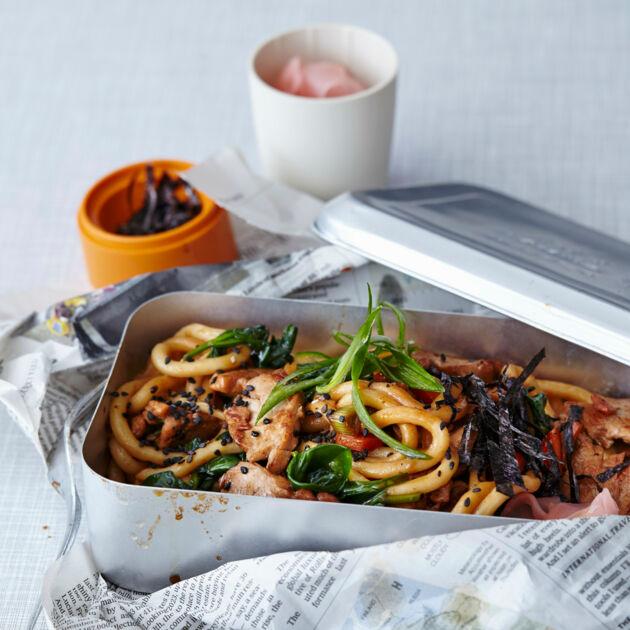 Sesamwürzige Yaki Udon Rezept | Küchengötter