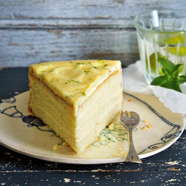 Gin Lemon Torte Rezept Kuchengotter
