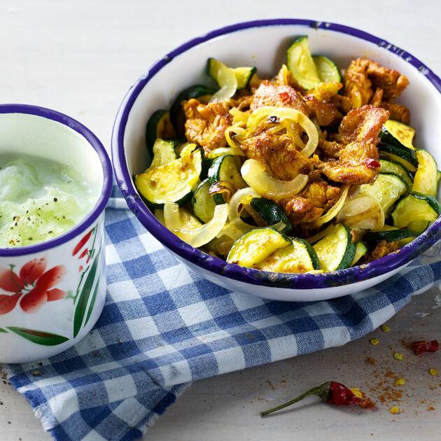 puten-gyros mit tsatsiki rezept | küchengötter - Küchengötter Schlank Im Schlaf