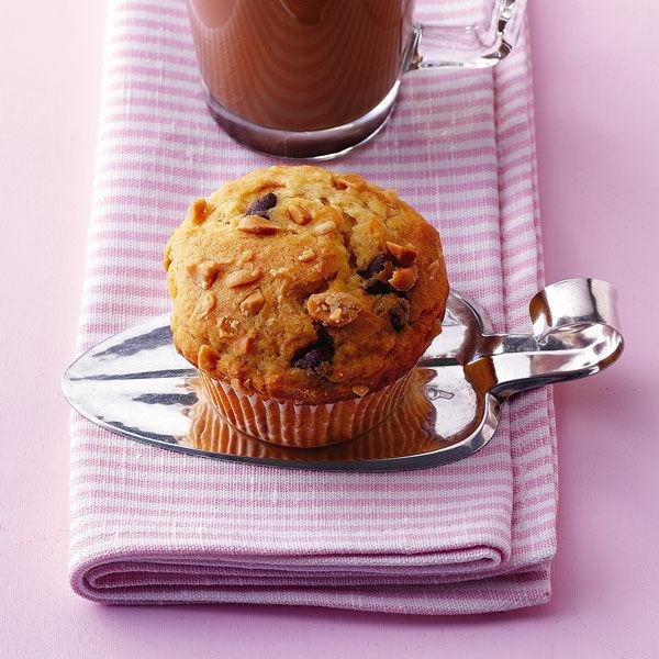 Erdnuss Schoko Muffins Rezept Kuchengotter