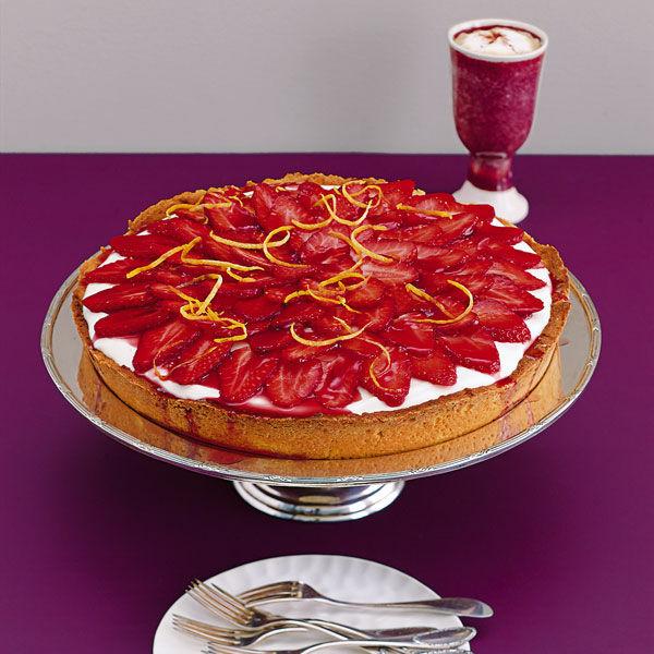 Erdbeer Quark Torte Rezept Kuchengotter