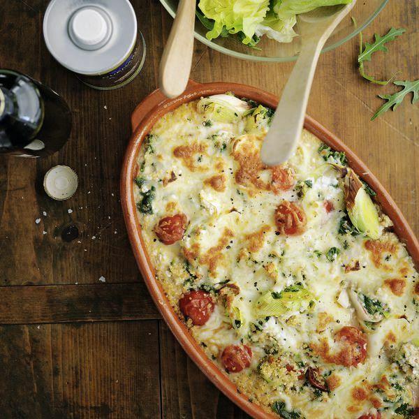 Quinoa Auflauf Rezept Küchengötter