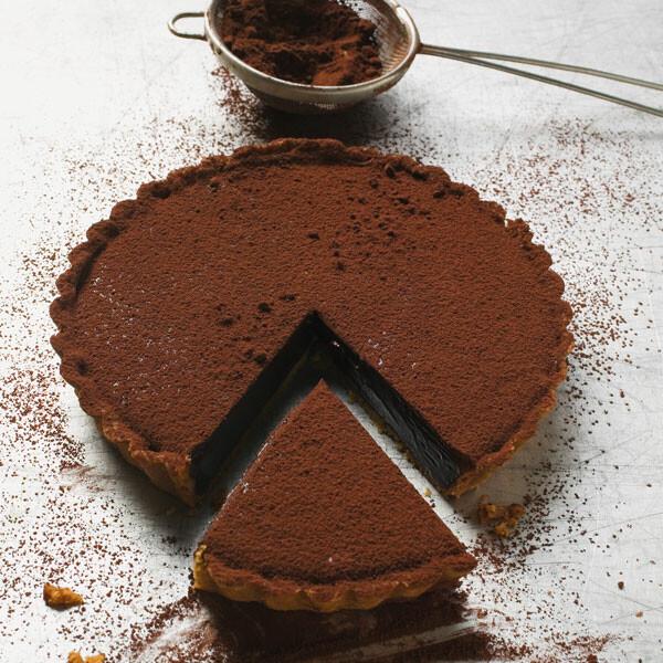 Schokoladen Tarte Rezept Küchengötter