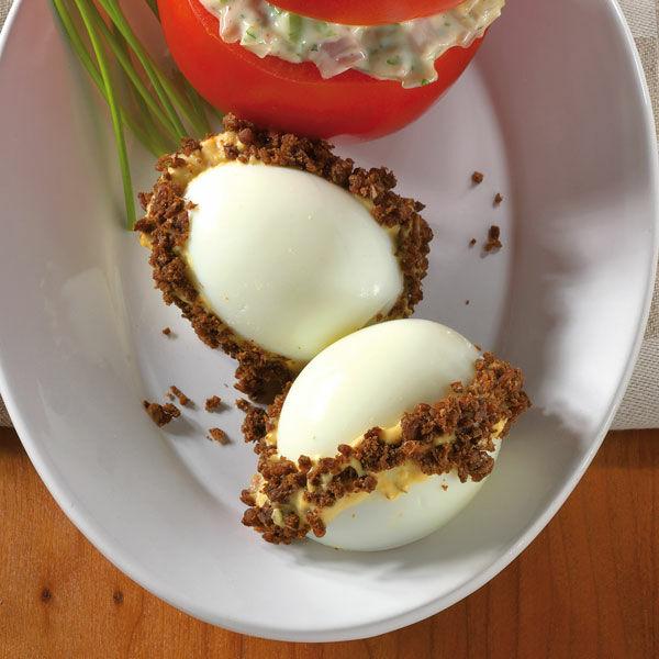 Pikant gef llte eier rezept k cheng tter - Eier kochen dauer ...