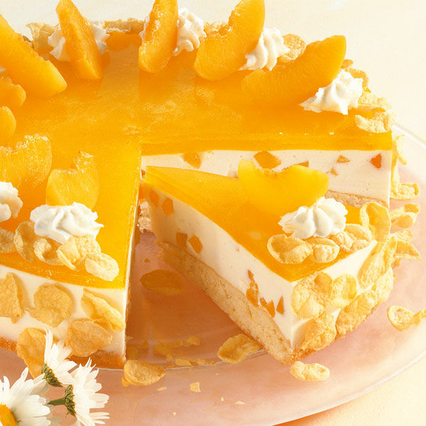 Pfirsich Torte Rezept Kuchengotter