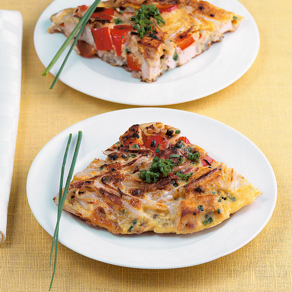 Rezept Für Omelett tofu paprika omelett rezept küchengötter