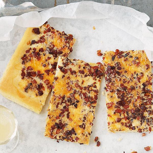 Sächsischer Speckkuchen Rezept | Küchengötter
