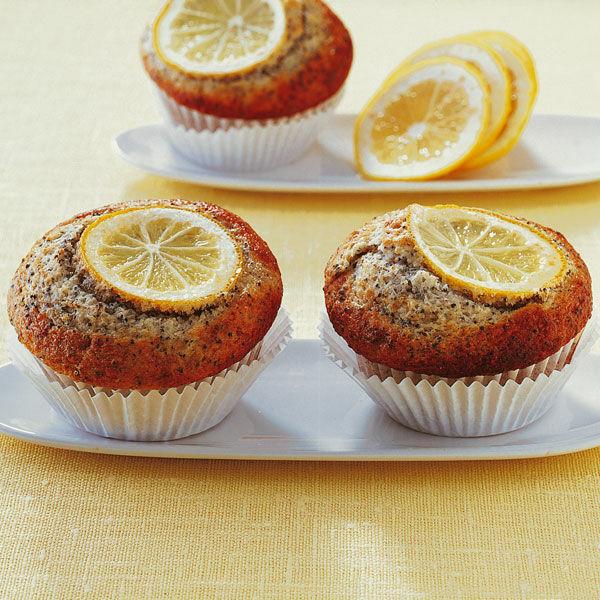zitronen mohn muffins rezept k cheng tter. Black Bedroom Furniture Sets. Home Design Ideas