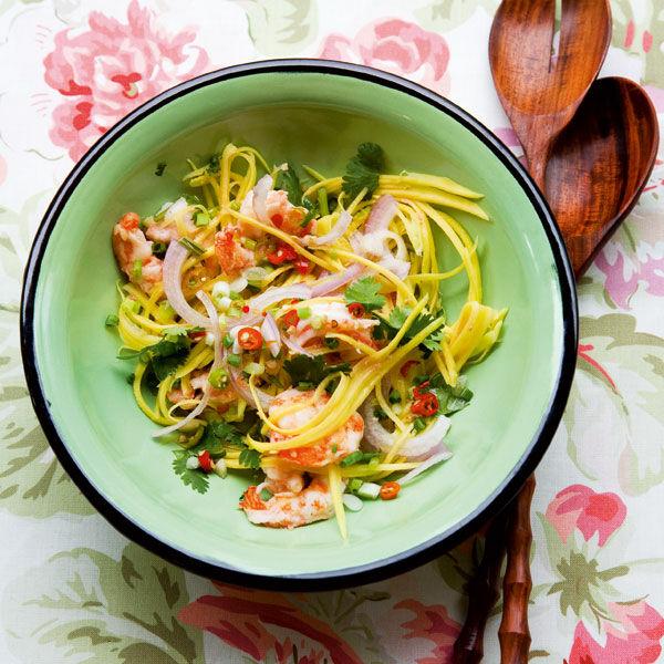 Pikanter Garnelensalat Yam Gung Rezept Küchengötter