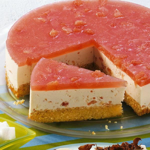 Grapefruit Frischkase Torte Rezept Kuchengotter