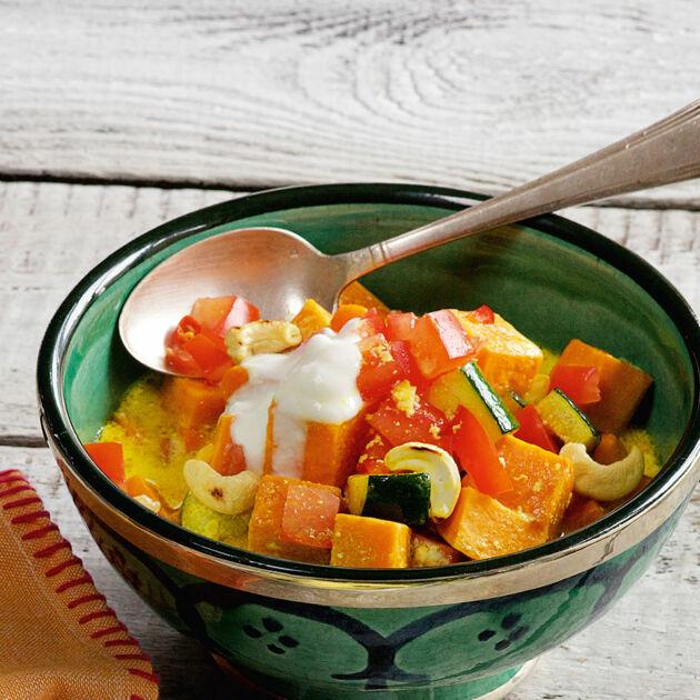 Süßkartoffel-Curry Rezept | Küchengötter