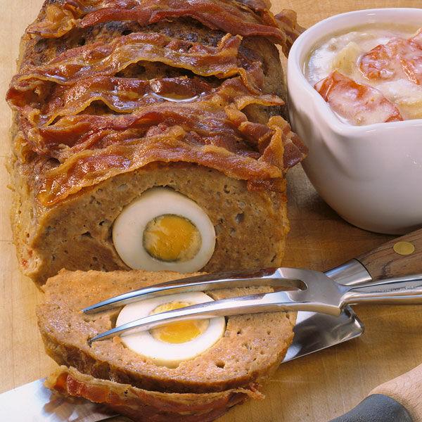Gef llter hackbraten oder falscher hase rezept - Eier hart kochen dauer ...